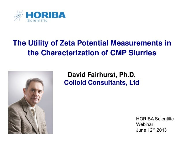 The Utility of Zeta Potential Measurements in the Characterization of CMP Slurries