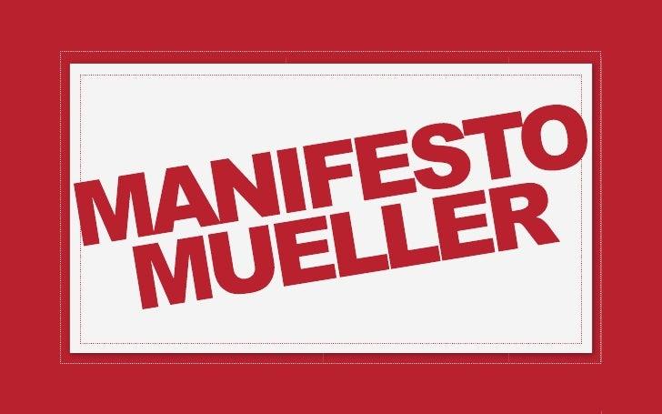 {   Divulgar o lançamento da Mueller    Special Lava e Seca na Internet.