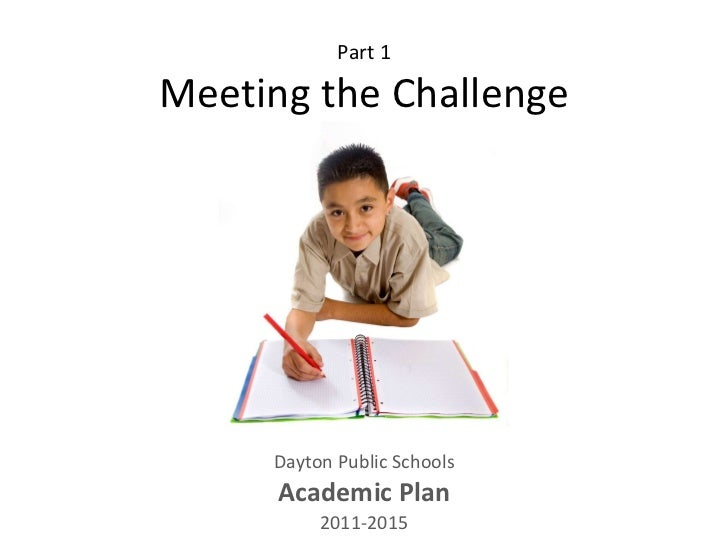 "DPS Academic Plan: ""Meeting the Challenge"""
