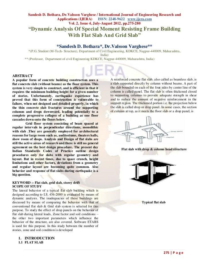 Sandesh D. Bothara, Dr.Valsson Varghese / International Journal of Engineering Research and                           Appl...