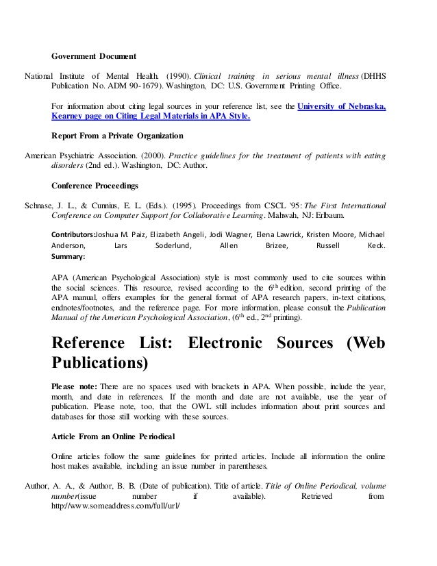 apa style reference unpublished dissertation