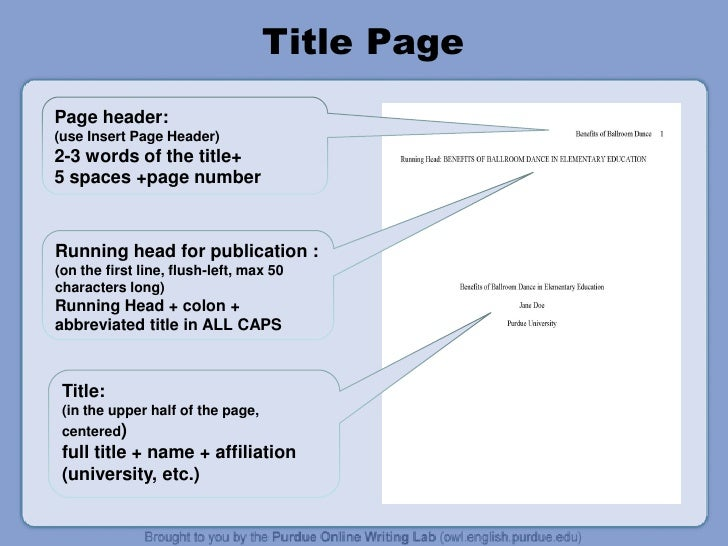 Citing page number