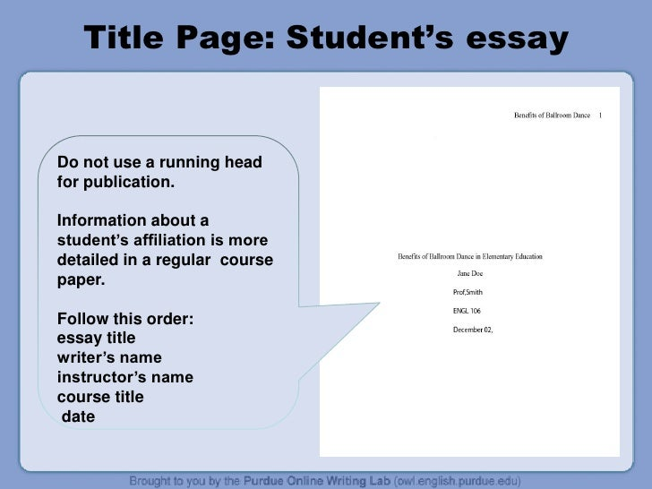 Citations apa how to cite an essay in ananthology