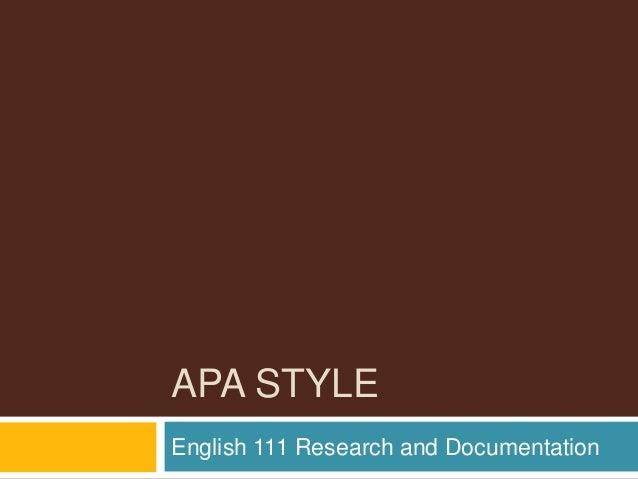 APA -  Essay #3