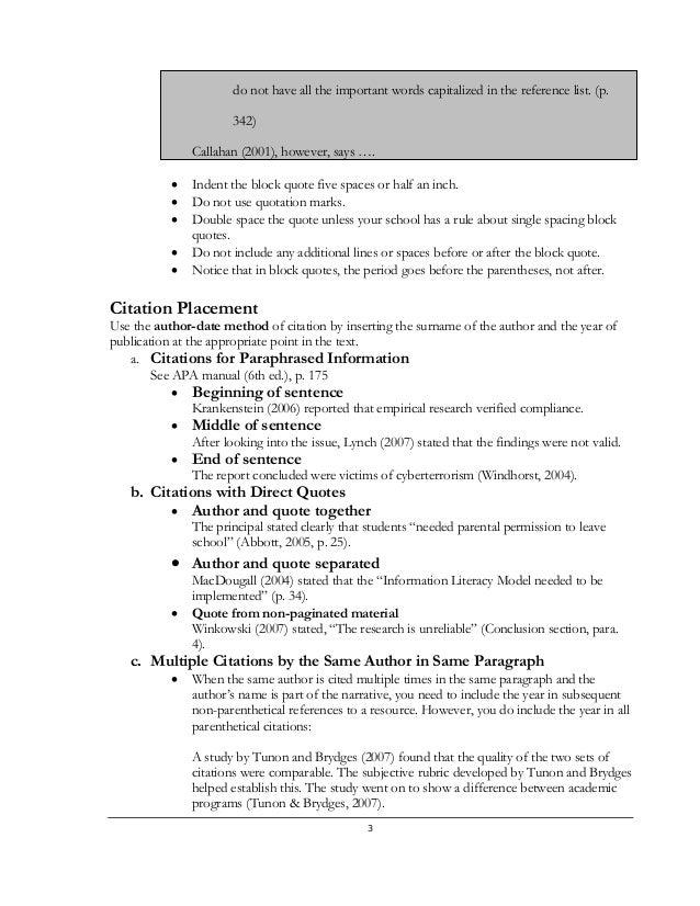 Book report quote citation. Homework Help