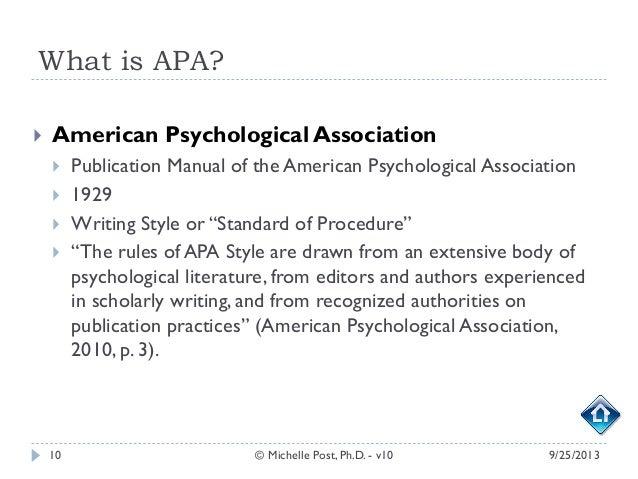 standard essay format apa style