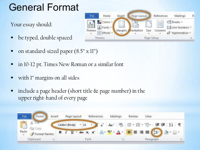 Write my standard font size for college papers