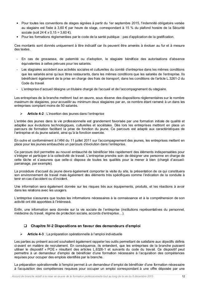 Idcc 29 accord formation professionnelle - Plafond horaire de la securite sociale ...