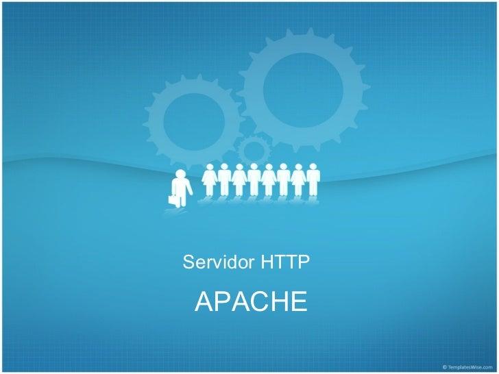 Introducción a Servidor HTTP Apache