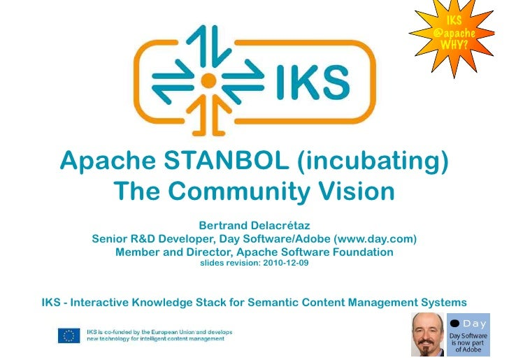 Apache Stanbol - the community vision