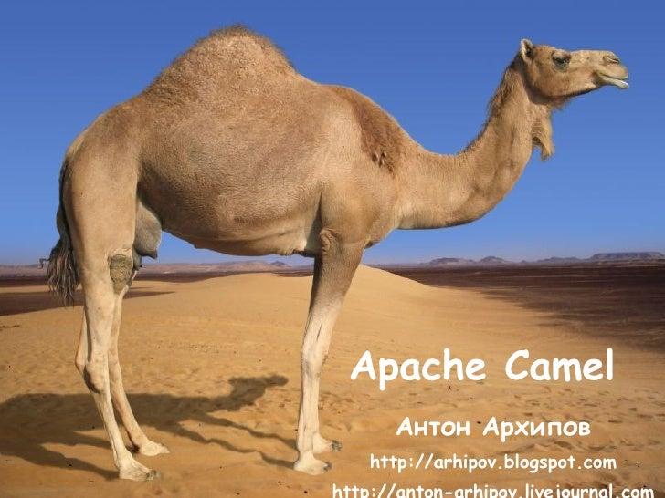 Apache Camel Антон Архипов http ://arhipov.blogspot.com http://anton-arhipov.livejournal.com