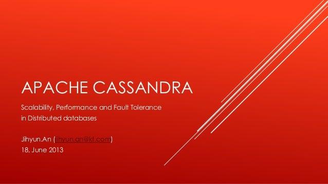 "About ""Apache Cassandra"""
