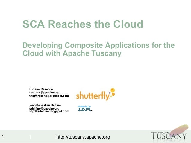ApacheCon NA 2010 - Developing Composite Apps for the Cloud with Apache Tuscany