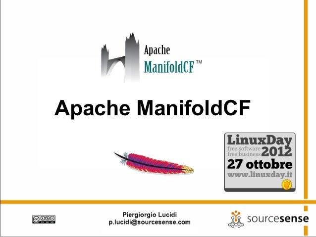 Apache ManifoldCF