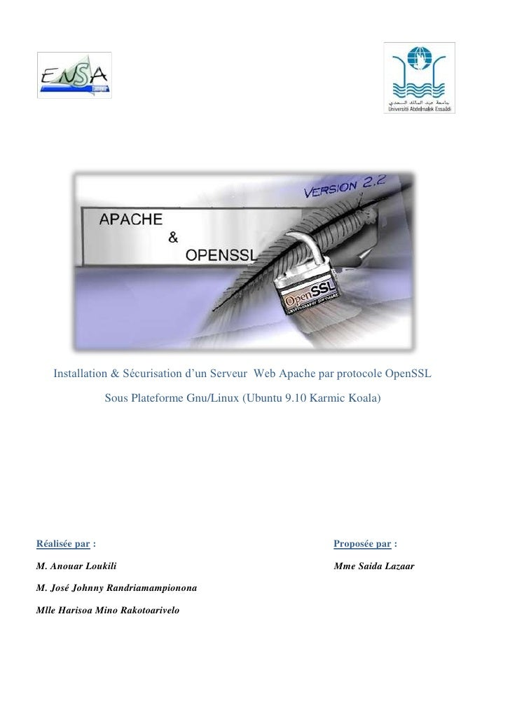 Apache Open SSL