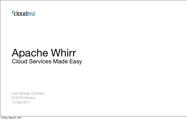Apache Whirr