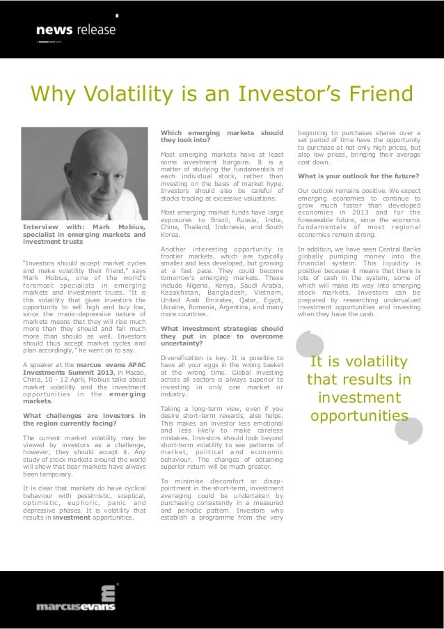 Why Volatility is an Investor's Friend                                                      Which emerging        markets ...