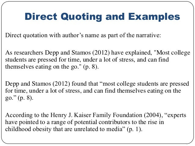 essay referencing quotes