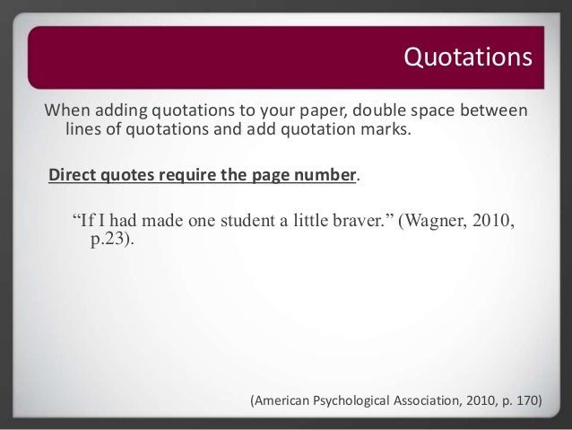 What is the difference between a quotation and citations?
