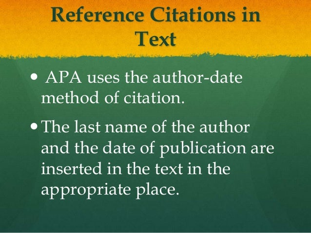 citations in essay apa When writing a research paper, in text citation is essential to use to accredit other researchers apa style in text citations when to use an in text citation.