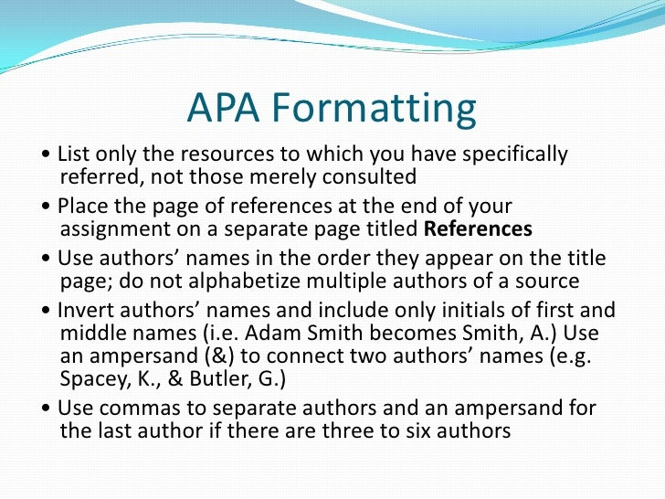 apa referencing unpublished dissertation Citation machine™ helps students and professionals properly credit the information that they use cite your thesis in apa format for free.