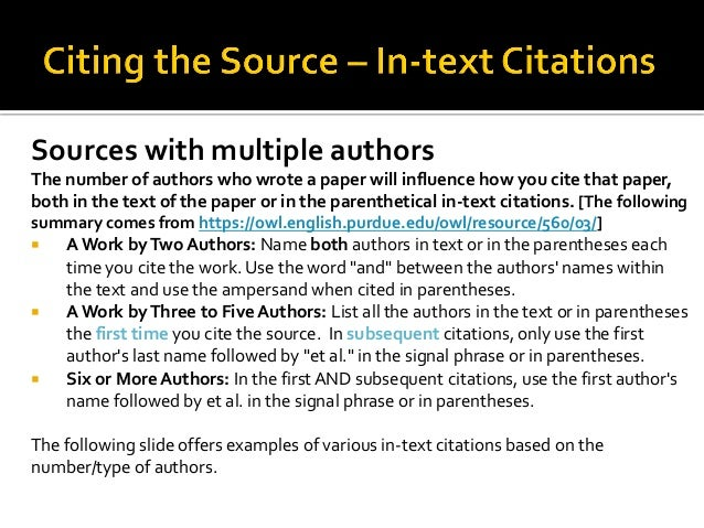 Apa citation of multiple authors