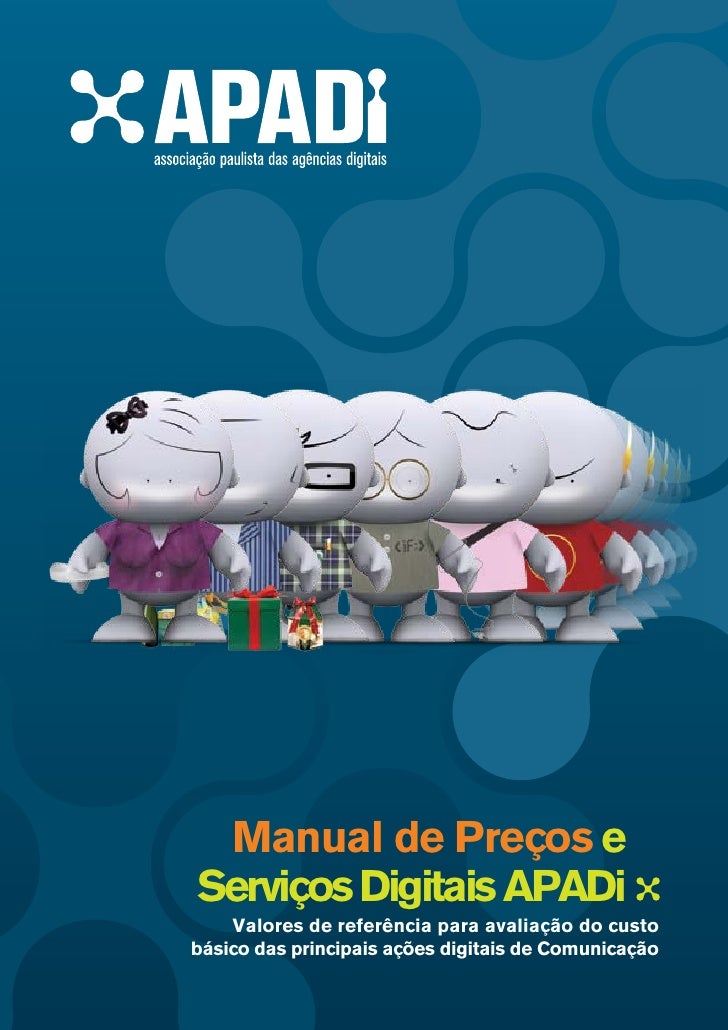APADI - Manual de Preços e Serviços