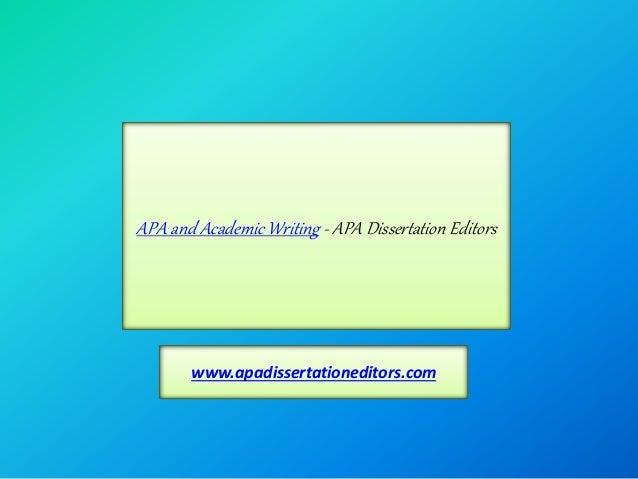 Dissertation editors minneapolis
