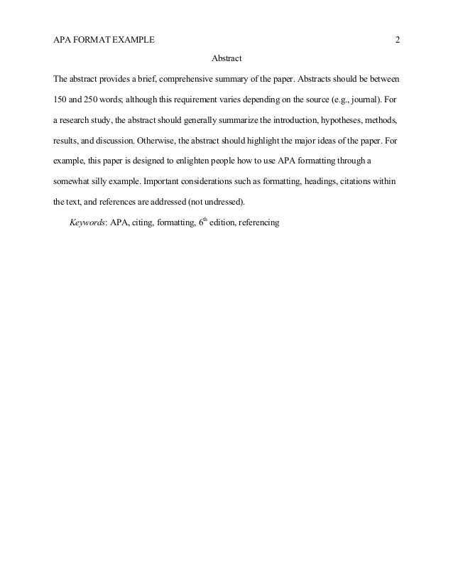 how to write an interview paper in apa format Per the publication manual of the american psychological association of the formatting of the paper apa heading levels (available on the writing.