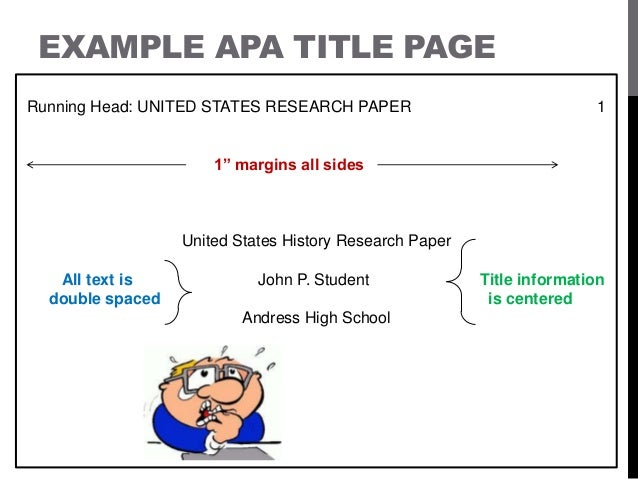 free apa style format template