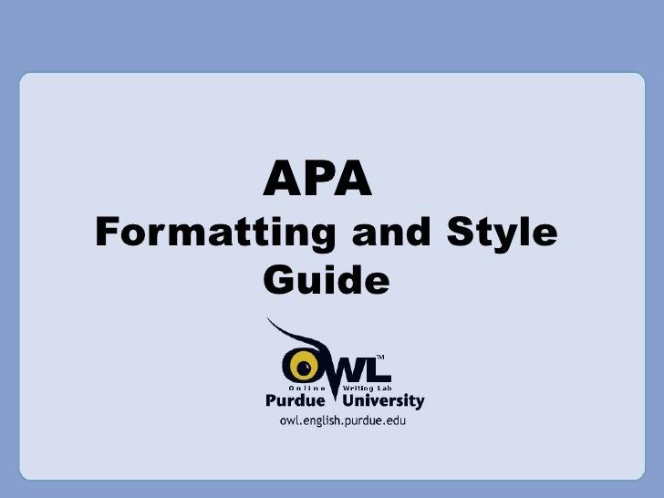 Apa Format Level Headings Example. APA Style Sixth Edition ...