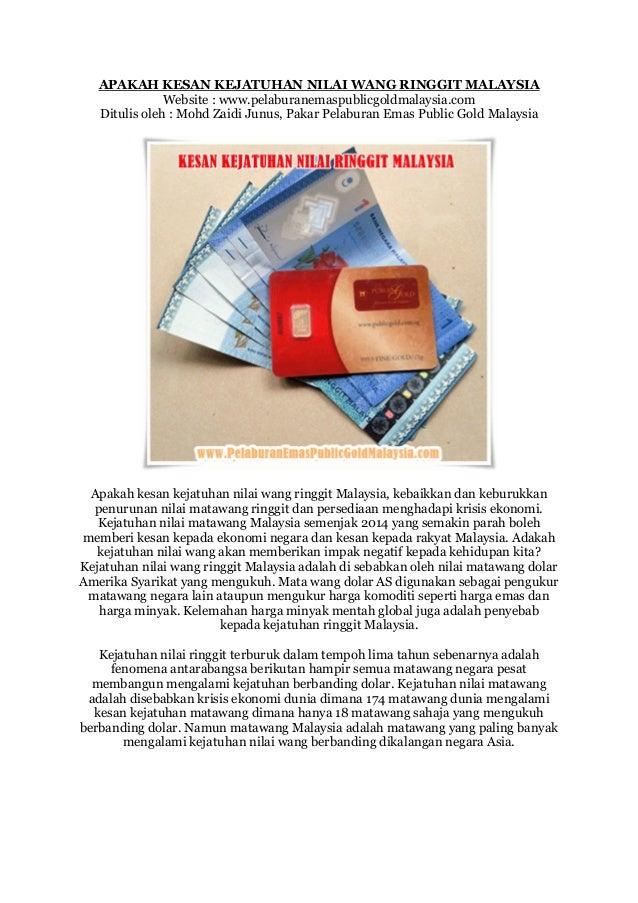 Nilai Malaysia  City pictures : APAKAH KESAN KEJATUHAN NILAI WANG RINGGIT MALAYSIAWebsite : www ...