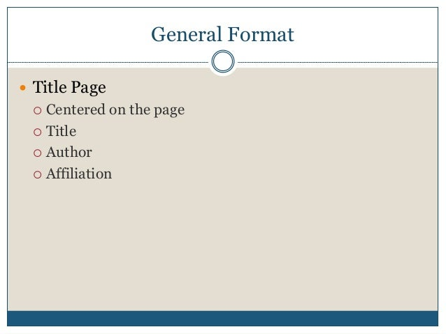 apa format easy Apa made easy click on the link to view the apa made easy: a student's guide to formatting this pdf document is an extensive overview of apa formatting guidelines required at ashford.