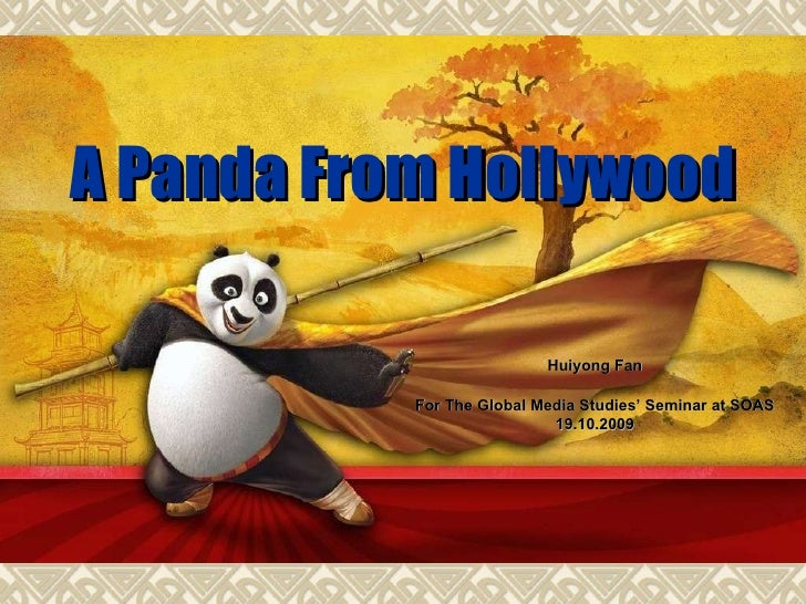 A Panda From Hollywood