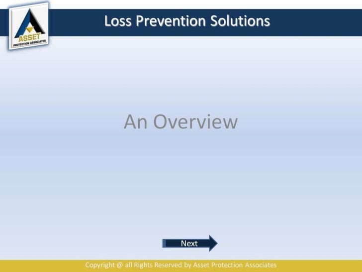 Loss Prevention Solutions