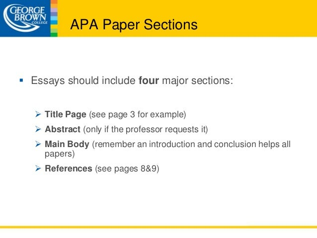 apa format research paper results section