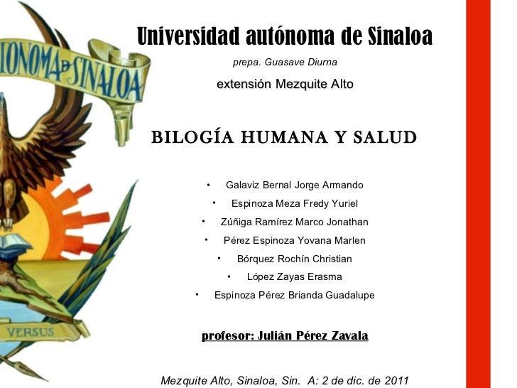 <ul><li>Universidad autónoma de Sinaloa </li></ul><ul><li>prepa. Guasave Diurna </li></ul><ul><li>extensión Mezquite Alto ...