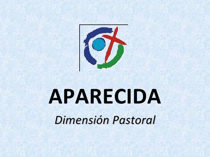 APARECIDA Dimensión Pastoral