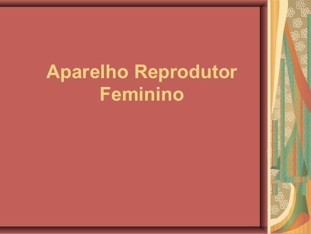 Aparelho reprodutor feminino