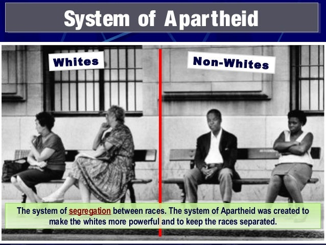 the apartheid system of south africa An official policy of racial segregation formerly practiced in the republic of south africa about the nature of israel as an apartheid system' and to.