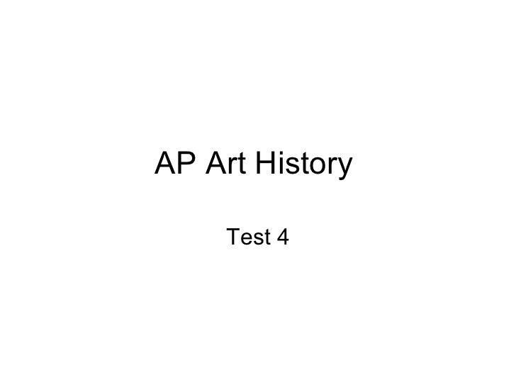 Ap art history test 4