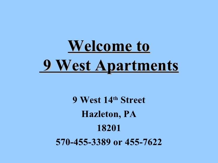 9  West Apartment Presentation