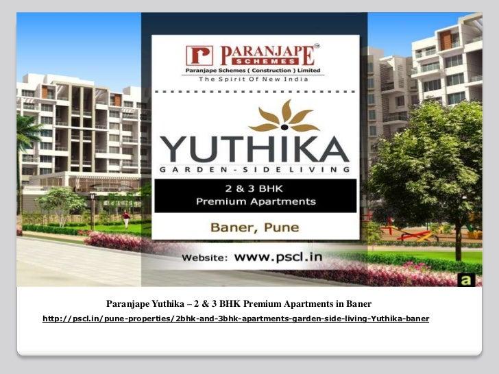 Paranjape Yuthika - Luxury Apartments at Baner Pune
