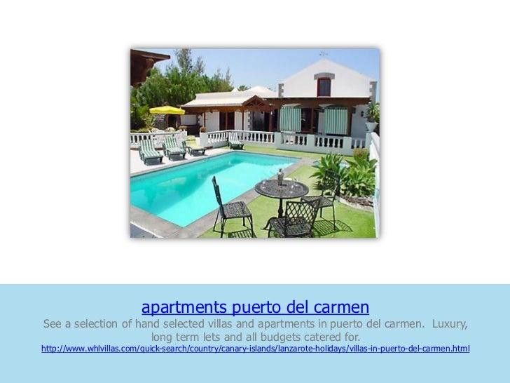 Apartments puerto del carmen
