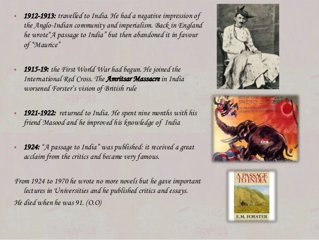 essay on a passage to india