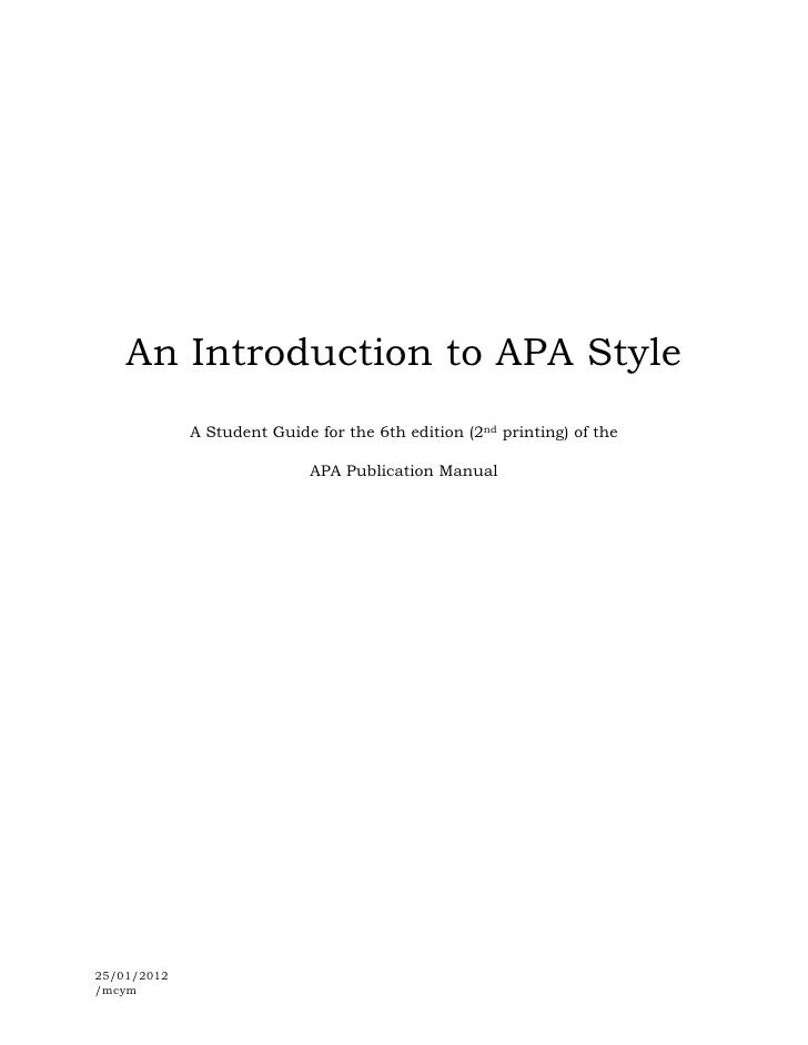 """introduction in a research paper apa style A sample paper in apa style minnie ames research showsthe author suggests do not use a heading titled """"introduction"""" (apa,."""
