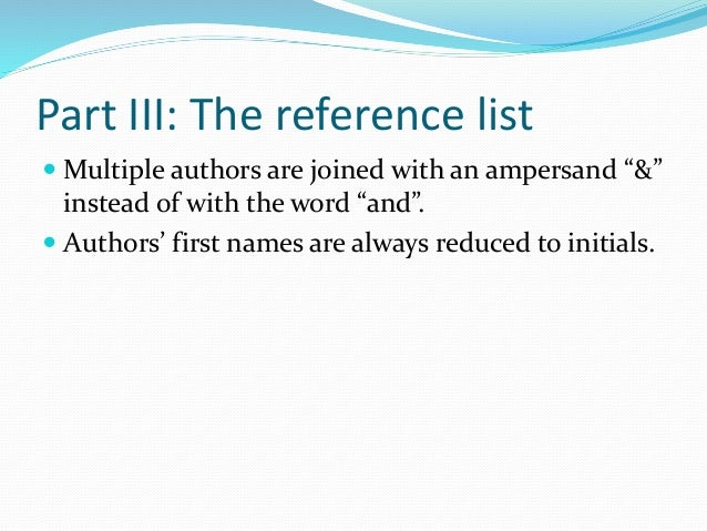 How do I list a website on an APA style reference page?