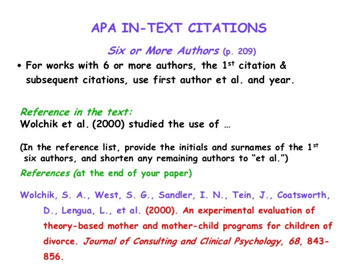 apa citiation format Apa format is the standard style for psychology papers learn to document sources, prepare a reference section, and include proper in-text citations.