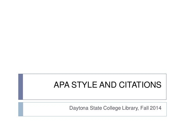 how to write apa style citation