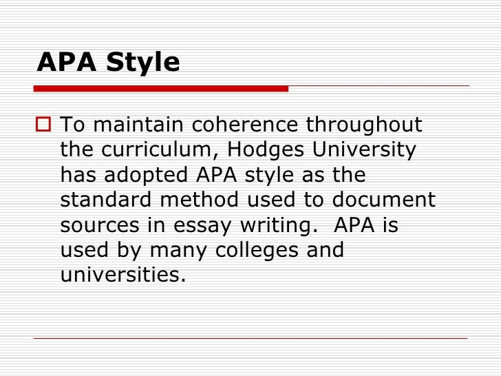 apa interview essay